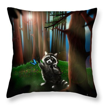 Wishing Upon A Dream Throw Pillow