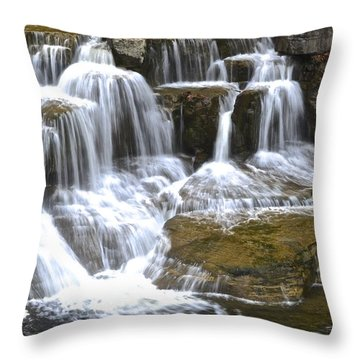Wishy Washy Throw Pillow by Frozen in Time Fine Art Photography