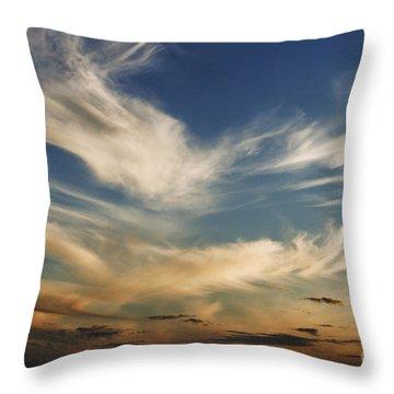 Wisp Throw Pillow by Andrew Paranavitana