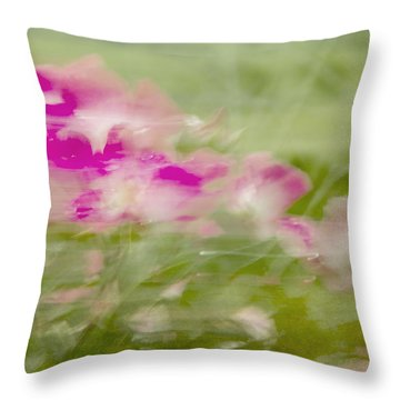 Wisp Throw Pillow by Linde Townsend