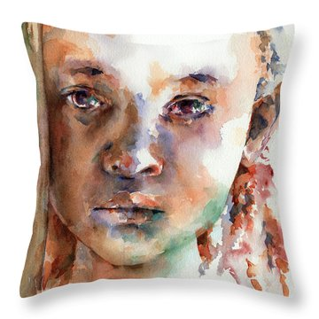 Wistful Throw Pillow by Stephie Butler