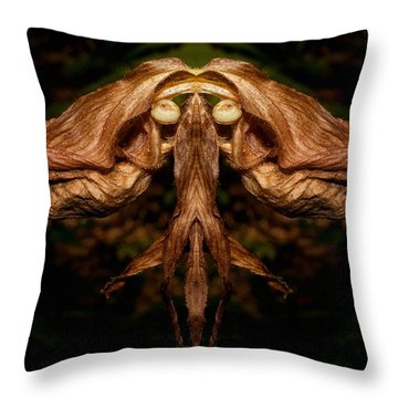 Witch Ballet Throw Pillow by WB Johnston