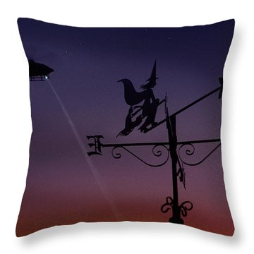 Witch Hunt Throw Pillow