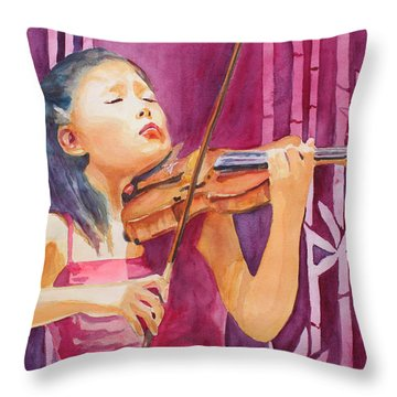 With Feeling Throw Pillow