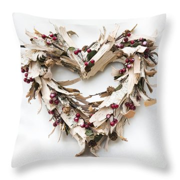 With Love Throw Pillow by Anne Gilbert