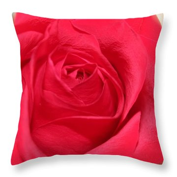 With Love Throw Pillow by Judy Palkimas