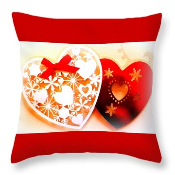 ...with Love Throw Pillow by The Creative Minds Art and Photography