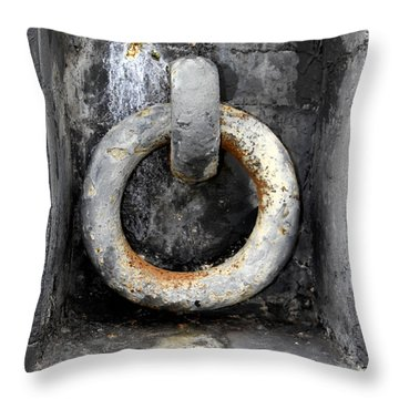 With This Ring In Key West Throw Pillow