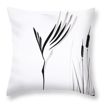 With Will And Determination Throw Pillow