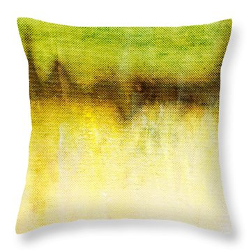 Wither Whispers II Throw Pillow by Brett Pfister