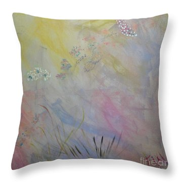 Withered Kansas Summer Throw Pillow by PainterArtist FIN