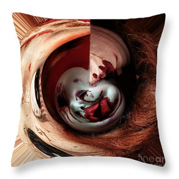 Within Me Throw Pillow by John Rizzuto