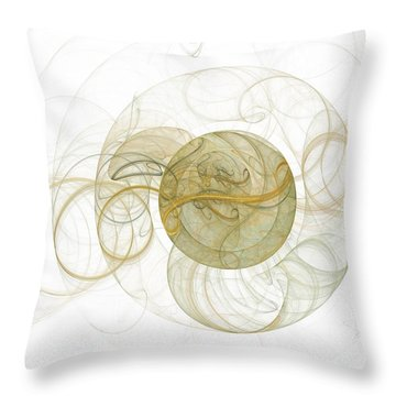 Within Without Throw Pillow by Elizabeth McTaggart