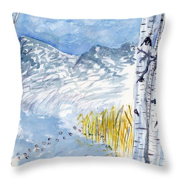 Without Borders Throw Pillow