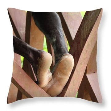 Without Title Throw Pillow