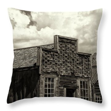 Withstanding The Years Throw Pillow by Sandra Bronstein