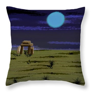 Witness Eternity Throw Pillow