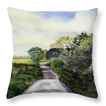 Woldgate - Late Spring Throw Pillow