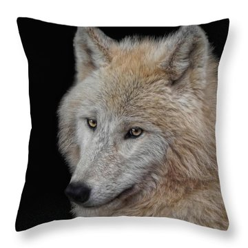 Wolf Bride Throw Pillow