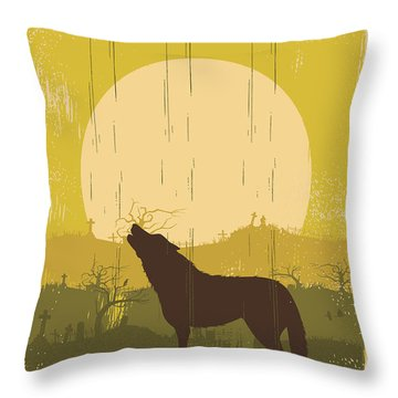 Graveyard Throw Pillows