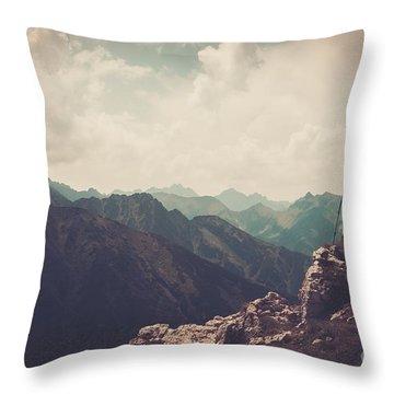 High Tatras Throw Pillows