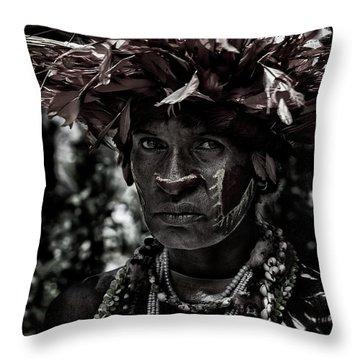 Guinea Throw Pillows