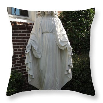 Throw Pillow featuring the photograph Woman Of Faith by Aaron Martens