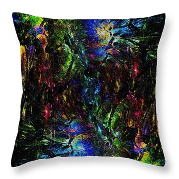 Women In Mourning Throw Pillow by Klara Acel
