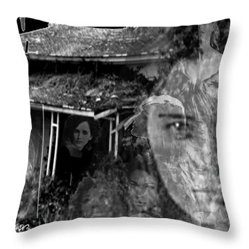 Women Of The House Throw Pillow by Seth Weaver