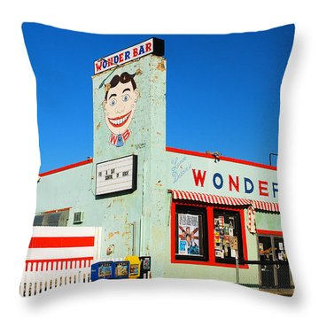 Wonder Bar Asbury Park Throw Pillow