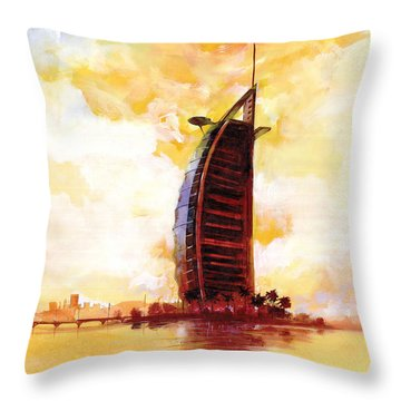 Wonder In The Sea Throw Pillow