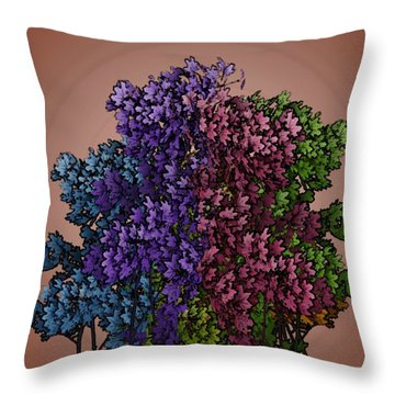 Wonderful Colors 1 Throw Pillow by Pepita Selles