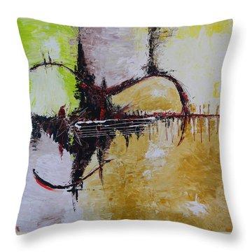 Wonderful Tonight Throw Pillow by Dan Campbell