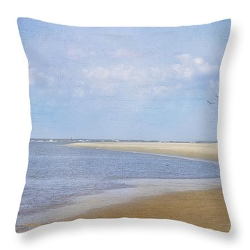 Wonderful World Throw Pillow