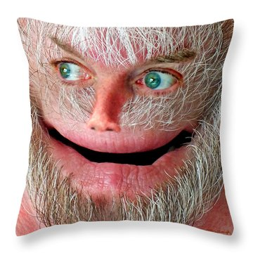 Wondering Harry Throw Pillow