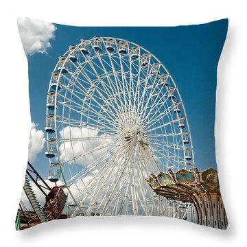 Wonderland Fun Throw Pillow