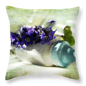 Wonders Happen In The Spring Throw Pillow