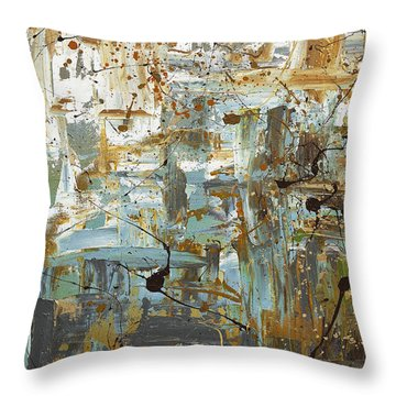 Wonders Of The World 1 Throw Pillow