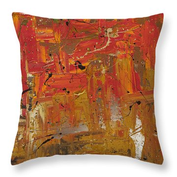 Wonders Of The World 3 Throw Pillow