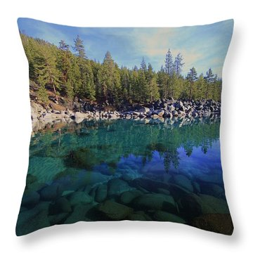 Throw Pillow featuring the photograph Wondrous Waters by Sean Sarsfield