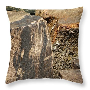 Wood You Throw Pillow by Tim Townsend