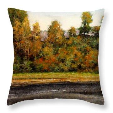 Woodland Bottoms #15 Throw Pillow