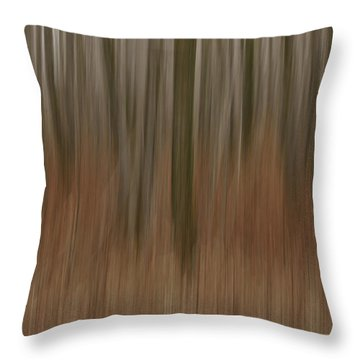Woodland Dreams Throw Pillow by Penny Meyers