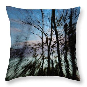 Woodland Flight Throw Pillow
