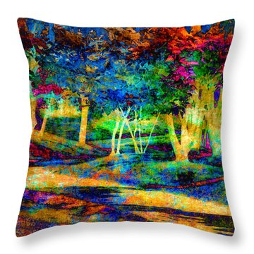 Woodland Gem Throw Pillow by William Beuther