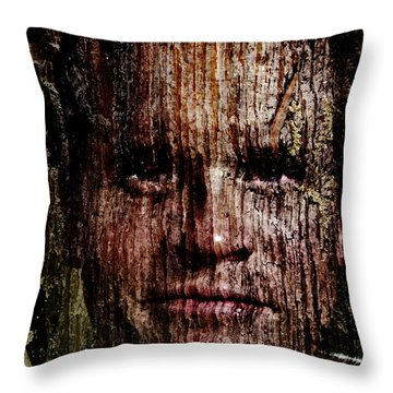 Woodland Kin Throw Pillow by Christopher Gaston