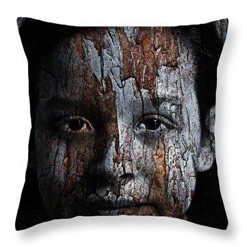 Woodland Princess Throw Pillow by Christopher Gaston