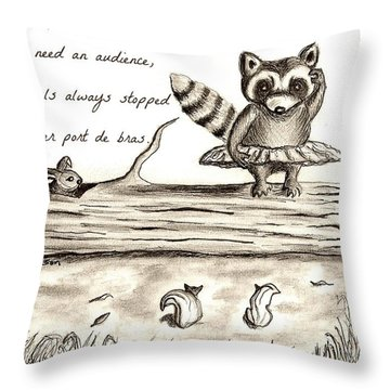 Woodland Whimsy 1 Throw Pillow