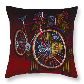 Woodrup Team 75 Throw Pillow