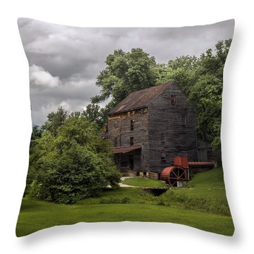 Woodson's Mill Throw Pillow